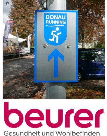 Donaurunning-Frühlingsaktion powered by Beurer